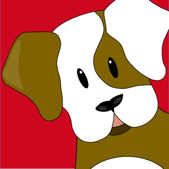 Hondje Gijs rood