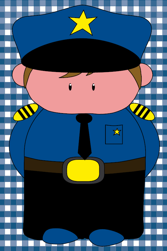 Politieagent Henk donker blauwe ruit
