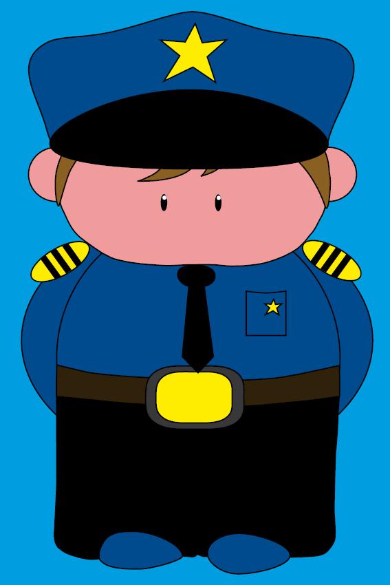 Politieagent Henk blauw