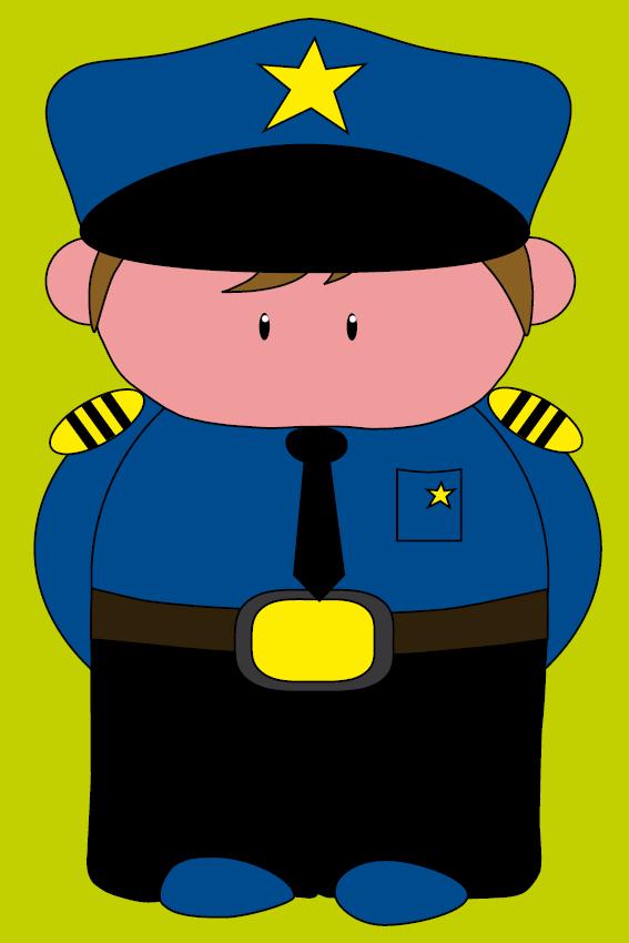 Politieagent Henk groen