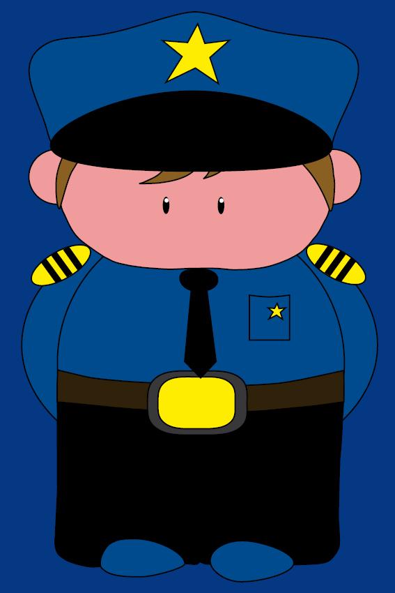 Politieagent Henk donker blauw