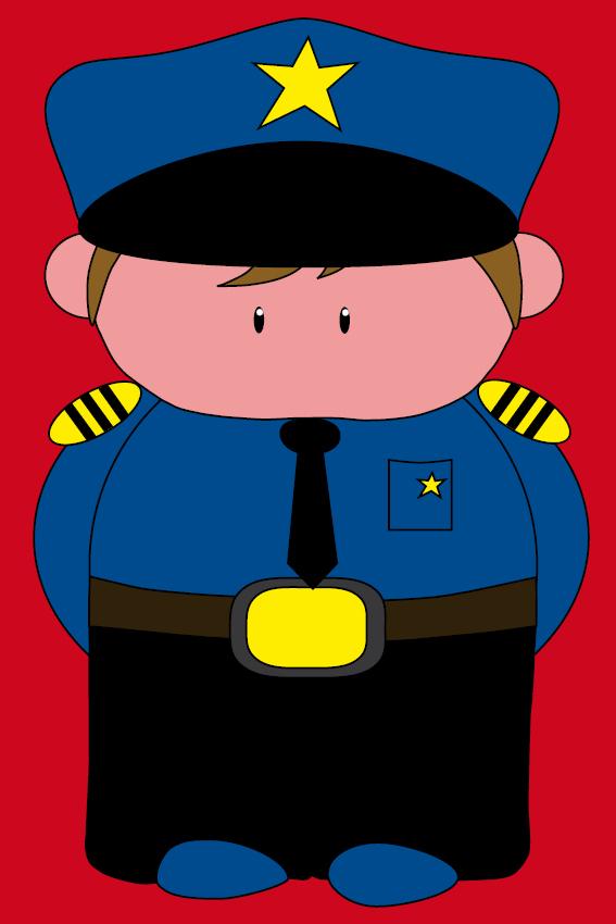 Politieagent Henk rood