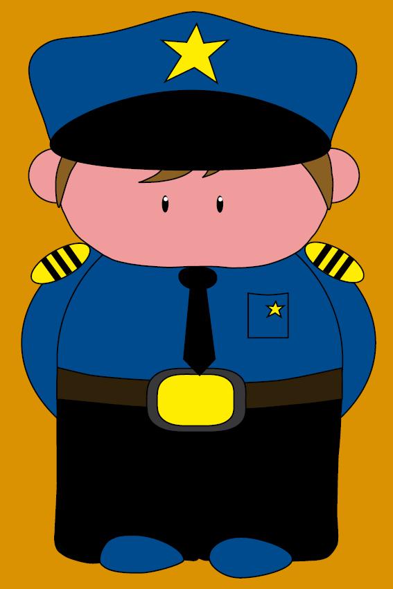 Politieagent Henk oranje