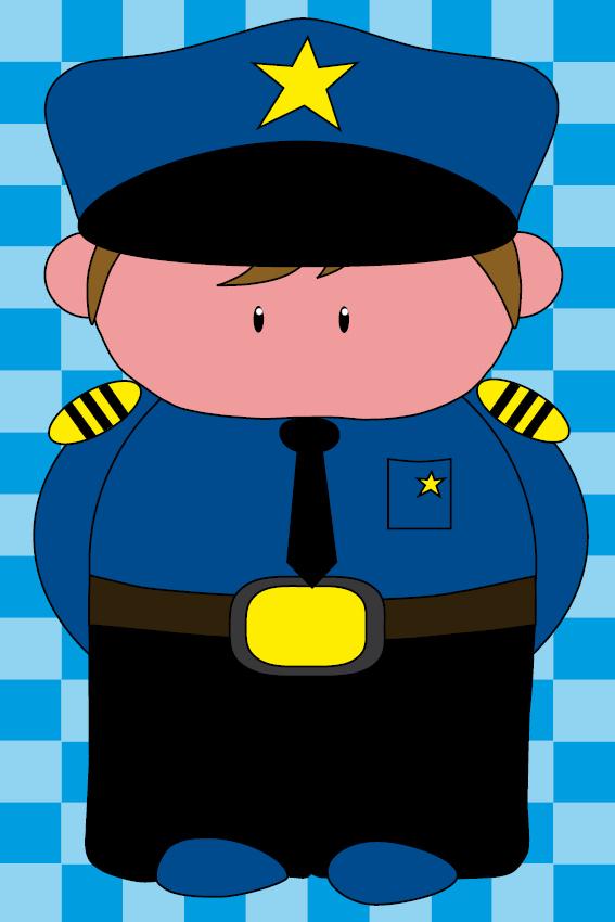 Politieagent Henk blauwe blokken