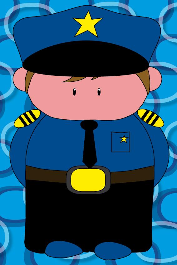 Politieagent Henk blauwe ringen