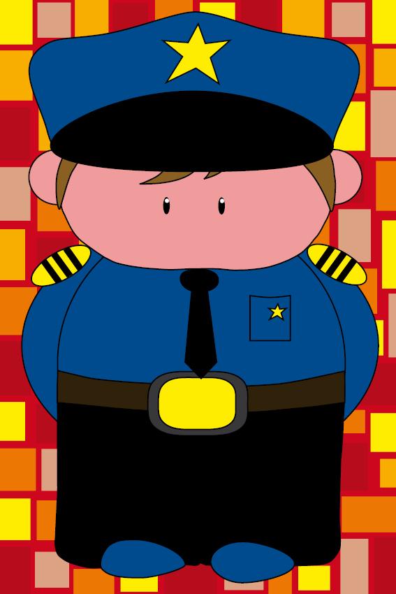 Politieagent Henk rode blokken
