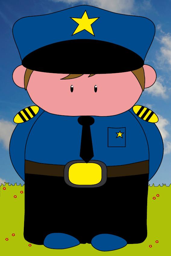 Politieagent Henk gras en foto lucht