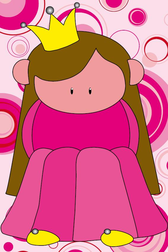 Prinsesje Ariane roze cikels