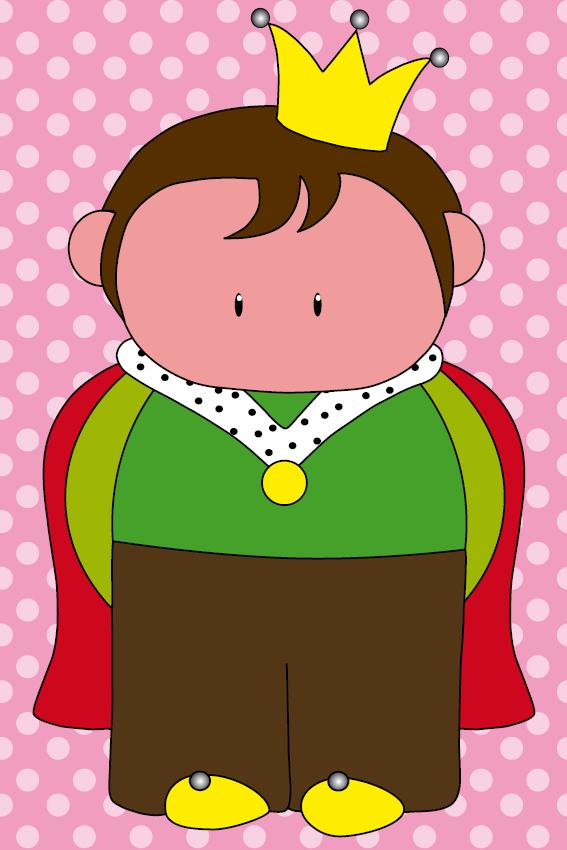 Prins Pieter roze stippen