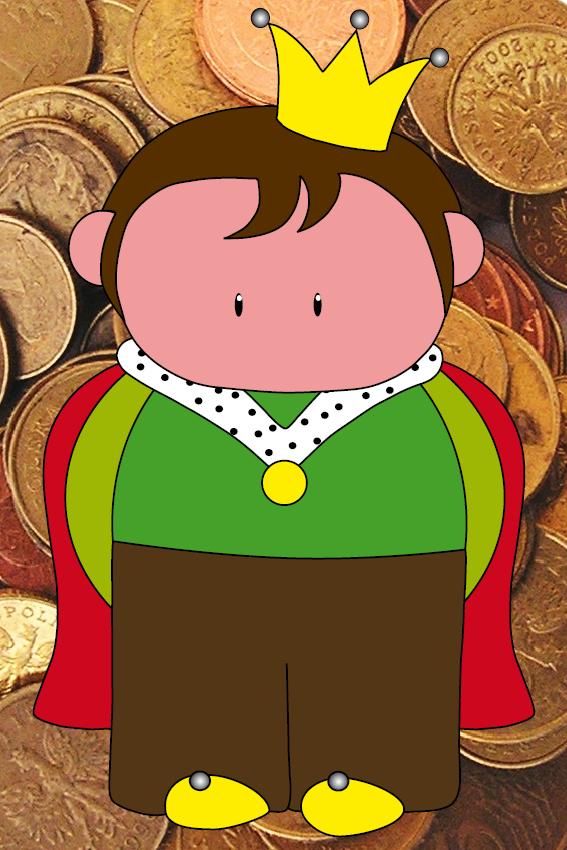 Prins Pieter foto geld