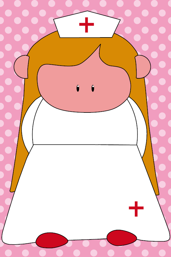 Zustertje Bep roze stippen