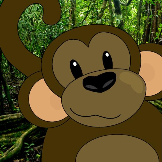 Aapje Sjoerd foto jungle