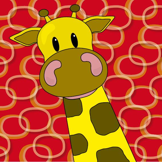 Giraf Menno rode ringen