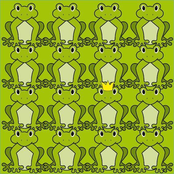 Kikkers groen