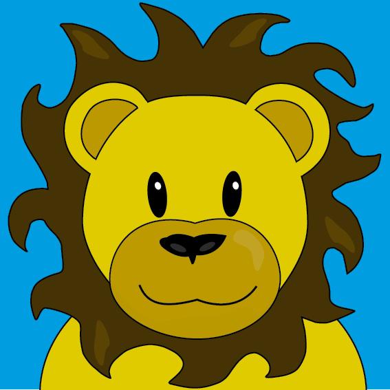 Leeuw Barry blauw