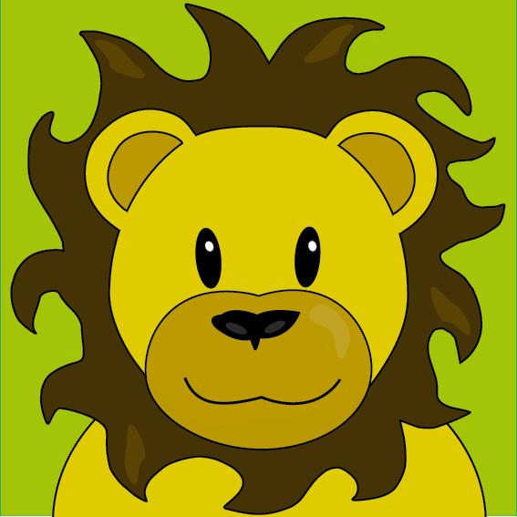 Leeuw Barry groen