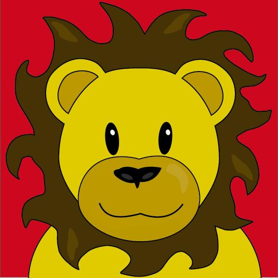Leeuw Barry rood