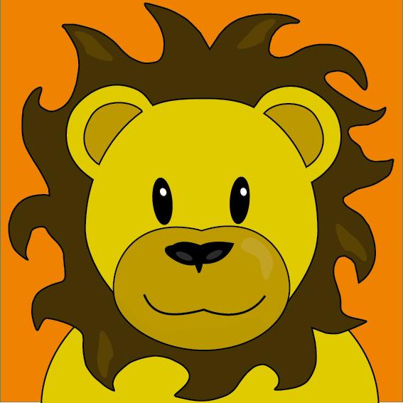 Leeuw Barry oranje