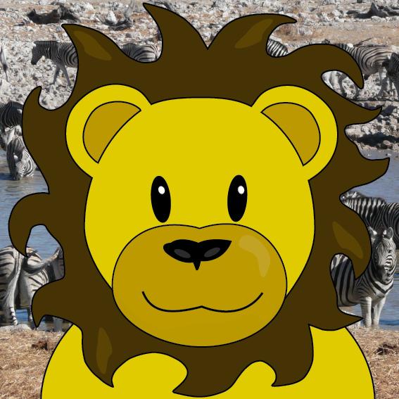 Leeuw Barry foto zebra