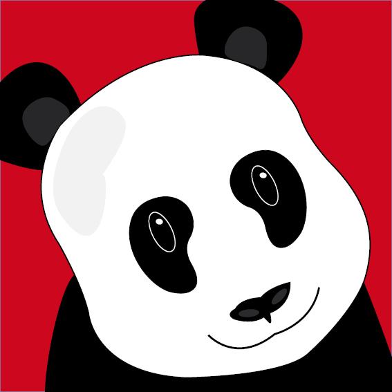 Panda Sam rood