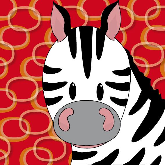 Zebra Mara rode ringen