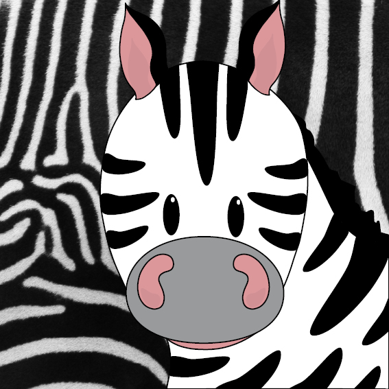 Zebra Mara foto vacht