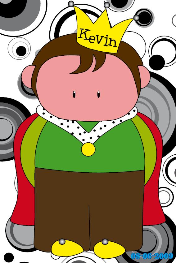 Prinsje Pieter naamschilderij