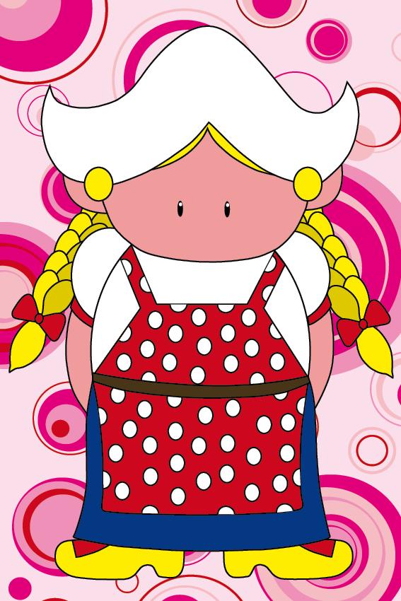 Boerinnetje Renske cirkels roze