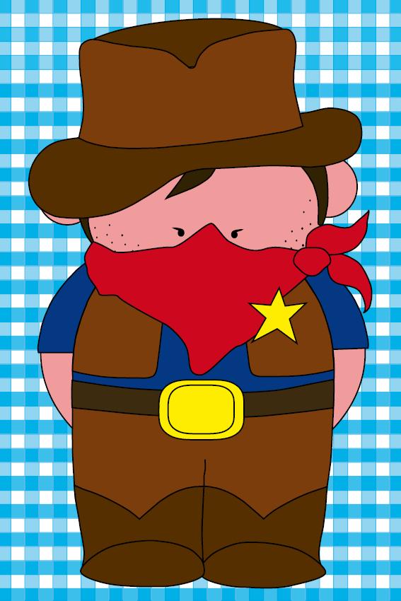 Cowboy Billy blauwe ruit