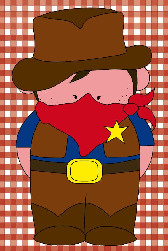 Cowboy Billy rode ruit