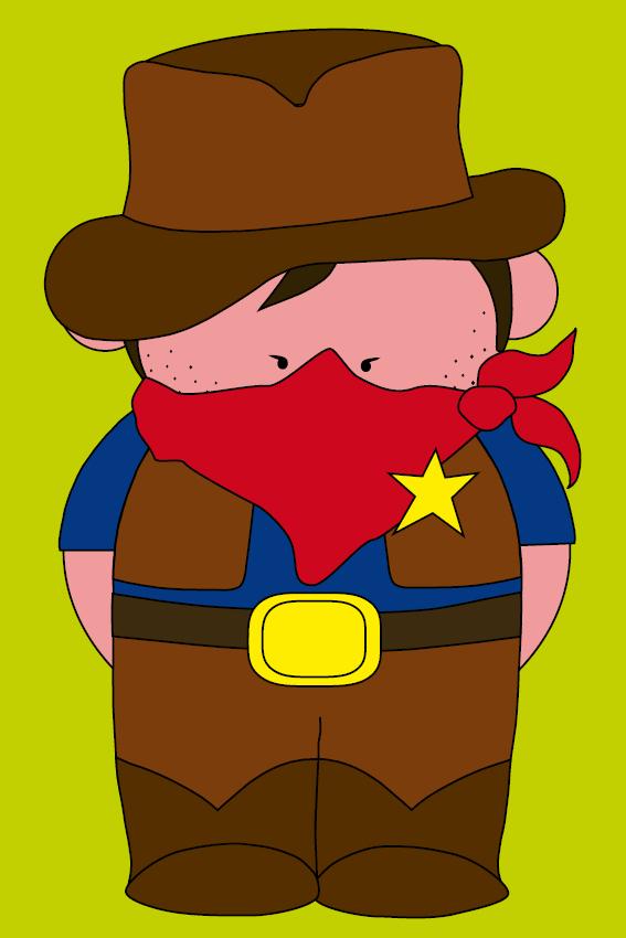 Cowboy Billy groen