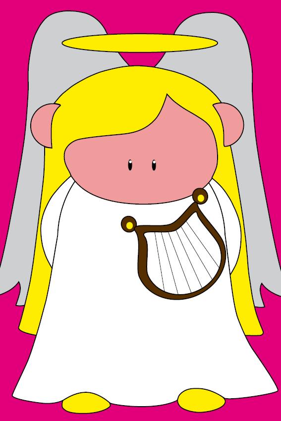 Engel Maria roze