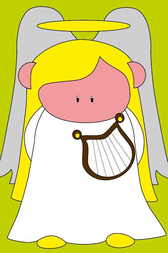 Engel Maria groen