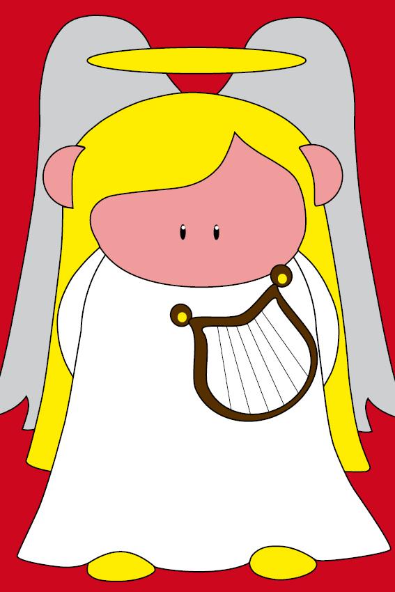 Engel Maria rood