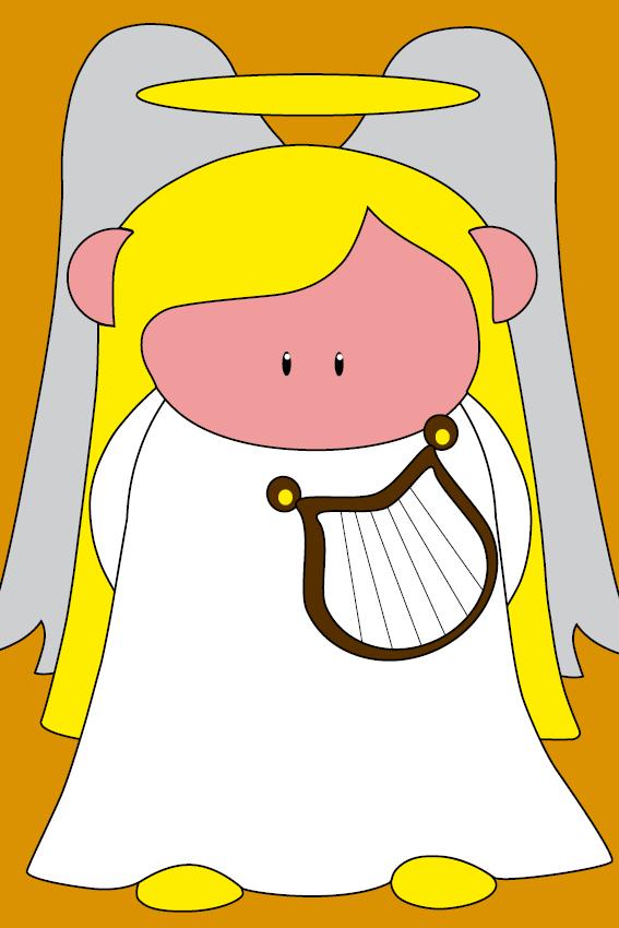 Engel Maria oranje
