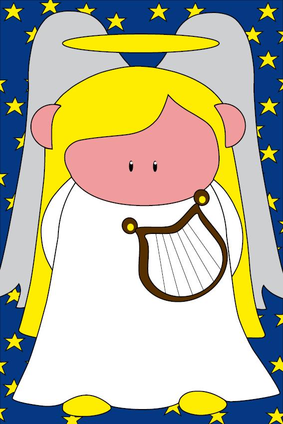 Engel Maria sterren