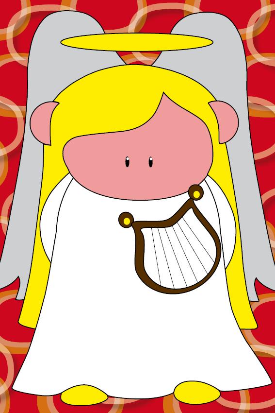 Engel Maria ringen rood