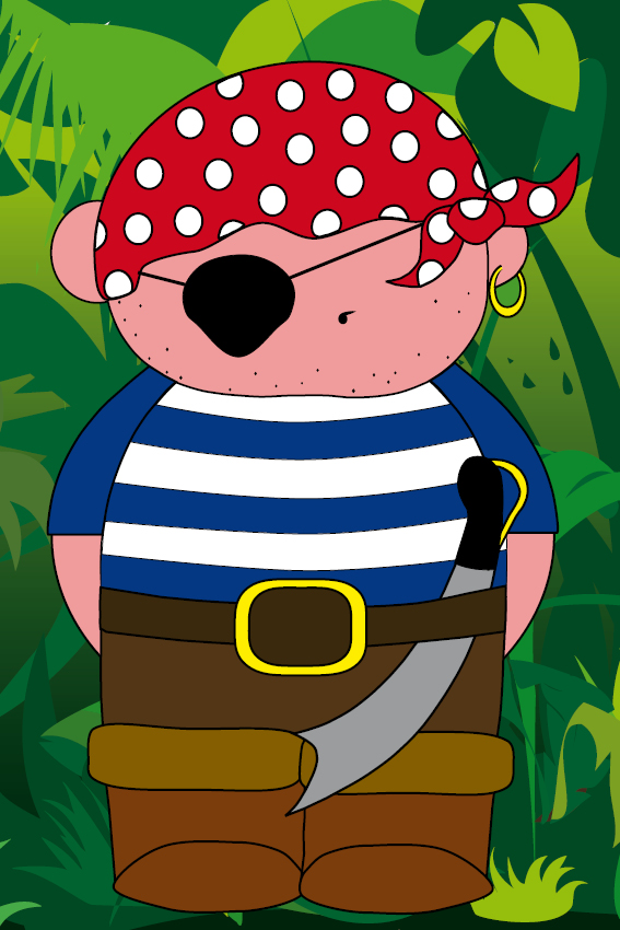 Piraatje Bas jungle