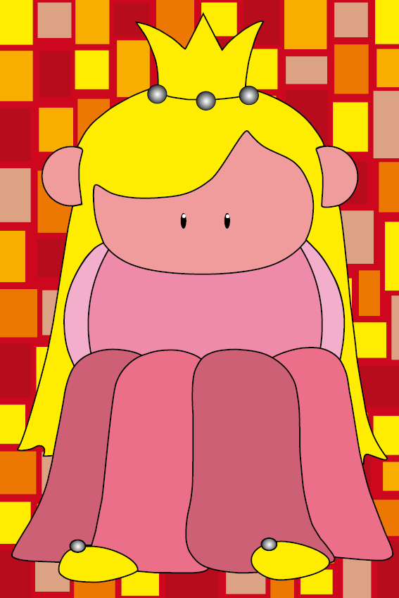 Prinsesje Amalia rode blokken