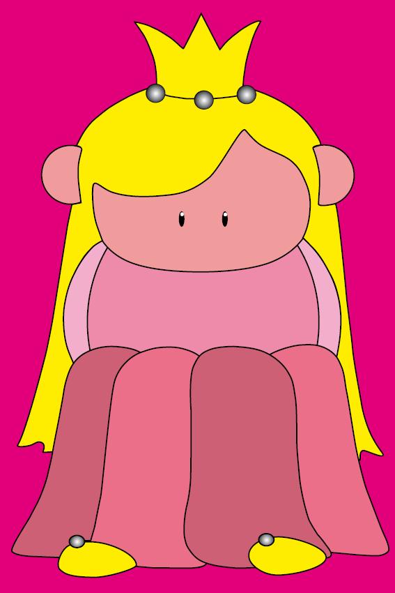Prinsesje Amalia roze