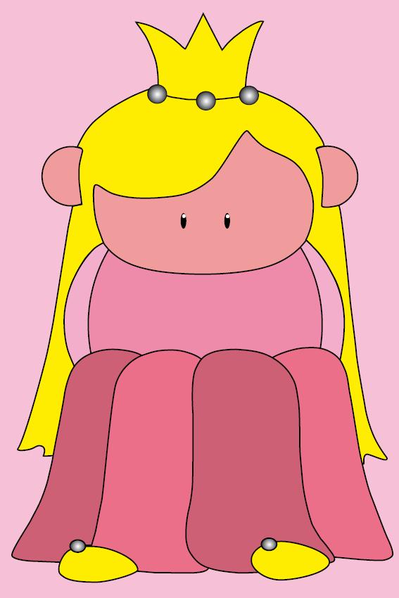 Prinsesje Amalia baby roze