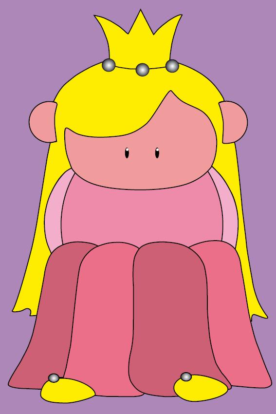 Prinsesje Amalia paars