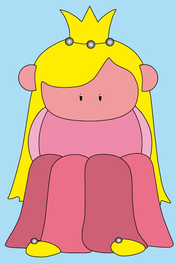 Prinsesje Amalia baby blauw