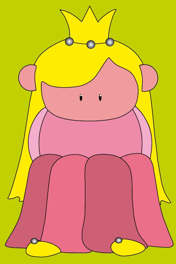Prinsesje Amalia groen