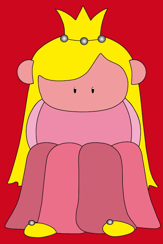 Prinsesje Amalia rood