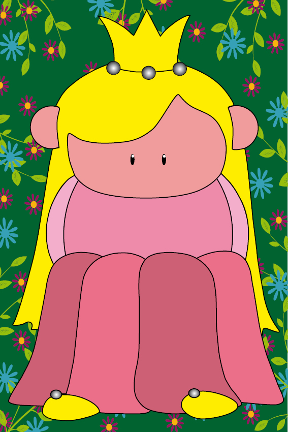 Prinsesje Amalia bloemen