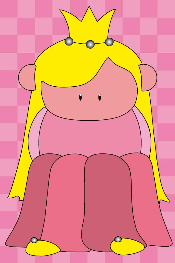 Prinsesje Amalia roze blokken