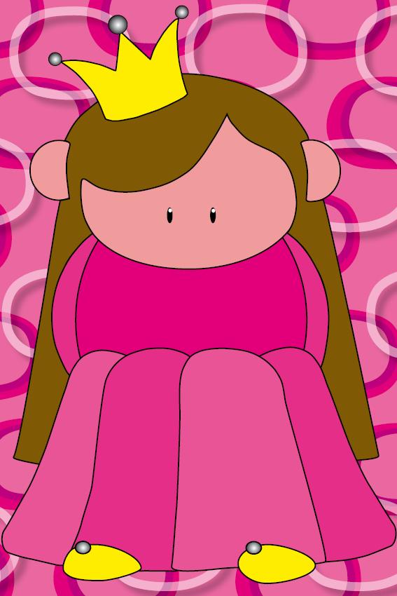 Prinsesje Ariane roze ringen