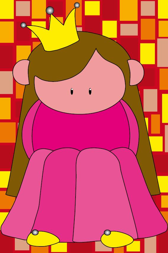 Prinsesje Ariane rode blokken