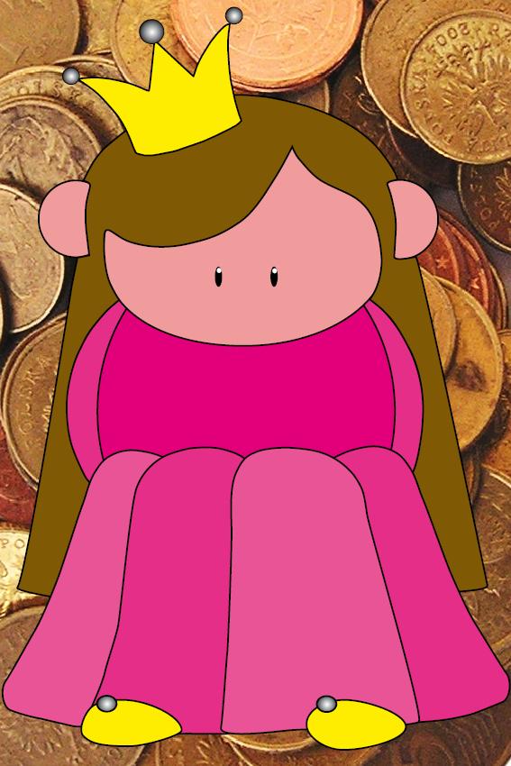 Prinsesje Ariane foto geld